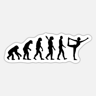Evolution Evolution Yoga - Sticker