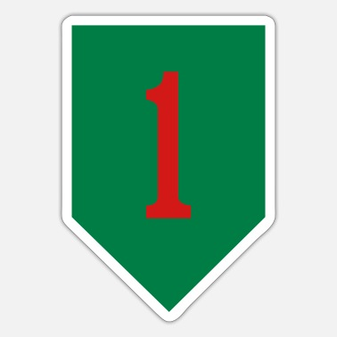 1st 1st Infantry - Sticker