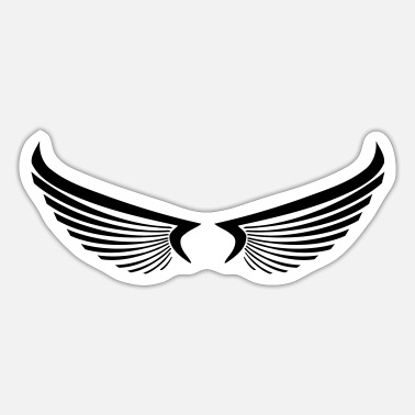 Wing wing wings - Sticker