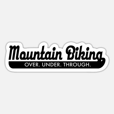 Mountain mountain bike - Sticker