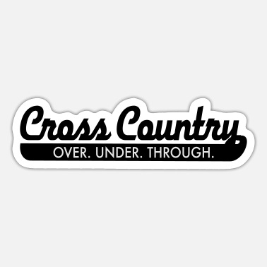 Cross Country cross country - Sticker