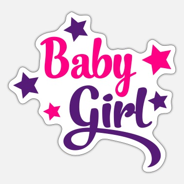 Baby Girl baby girl - Sticker