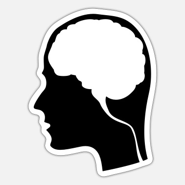 Brain Brain - Sticker