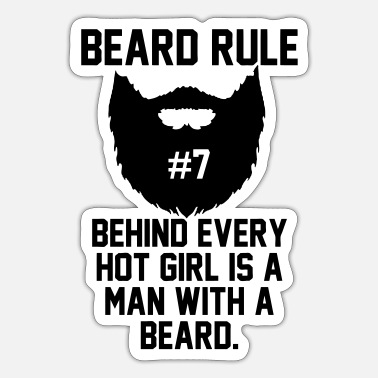 Beard Rules Beard Rules - Sticker
