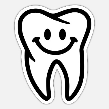 Tooth Tooth - Sticker