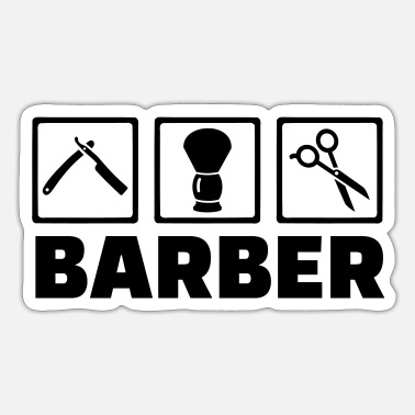Barber Barber - Sticker