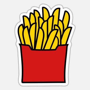 Fries Fries - Sticker