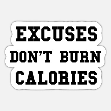 Calories Calories - Sticker