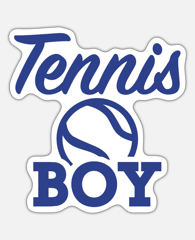 Ball Stickers - Tennis - Sticker white matte