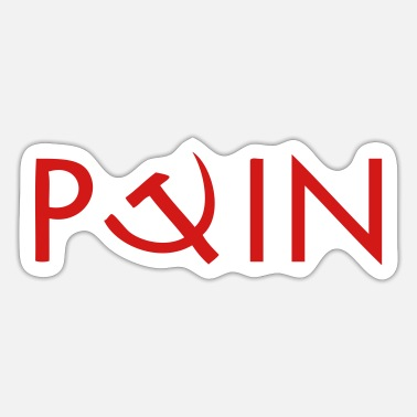 Communism Logo Putin - Sticker