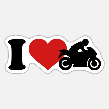 Motorcycles Motorcycle - Sticker