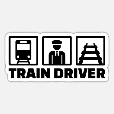 Train Driver Train driver - Sticker