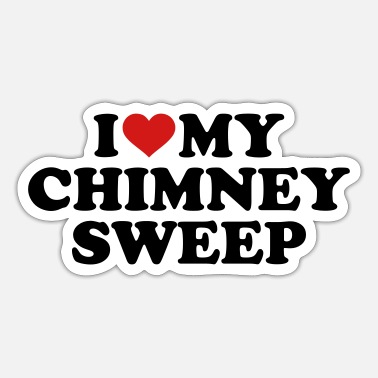 Chimney Chimney sweep - Sticker