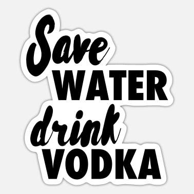 Vodka Vodka - Sticker