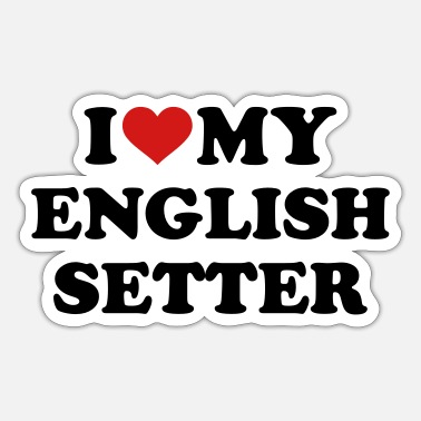 Setter English Setter - Sticker