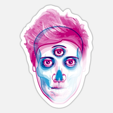 Duotone 3rd Eye - Sticker