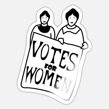 Lives Votes The Women - Sticker