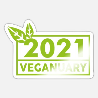 Veganuary VEGANUARY - Sticker