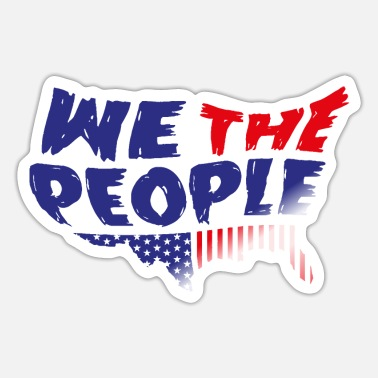 Government WE THE PEOPLE - Sticker