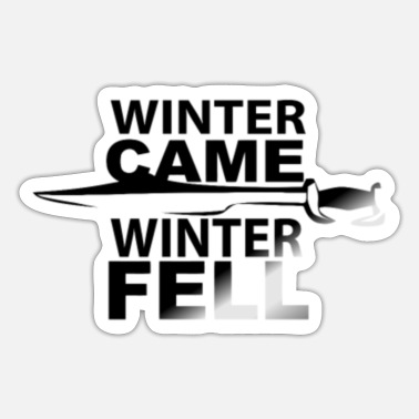 Winter Games WINTER GAME WINTER FELL - Sticker