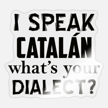 Catalan catalan dialect - Sticker