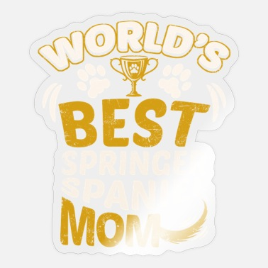 Springer Spaniel Mom World's Best Springer Spaniel Mom - Sticker