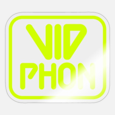 Runner Vid Phon Logo - Sticker