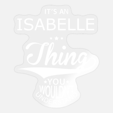 Isabel Isabelle - Sticker
