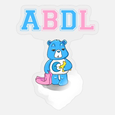 Ageplayer ABDL DDLG Brat Little Ageplay Adult Baby - Sticker