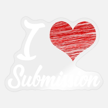 Submissive I love Submission - Sticker