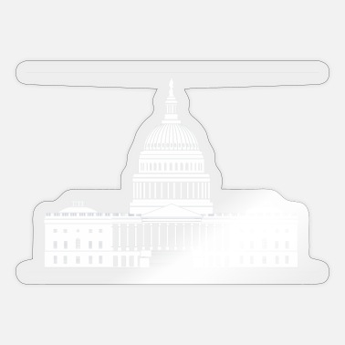 Capitol us capitol white house - Sticker