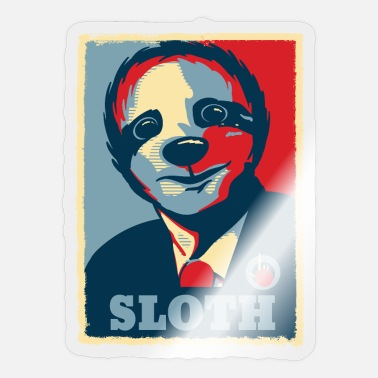 Election Sloth President Barack Obama - Sticker