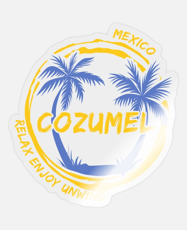 Central America Stickers - Mexico - Sticker transparent glossy