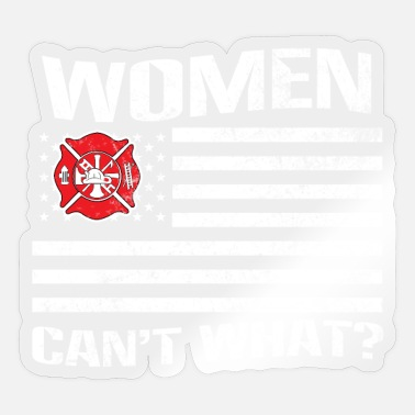 Profession Firefighter Profession - Sticker