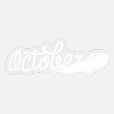 October October - Sticker