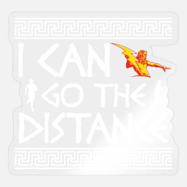 Runner I Can Go The Distance | Running - Sticker