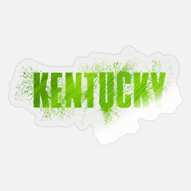 Us State Kentucky US State - Sticker