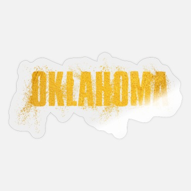 Us State Oklahoma US State - Sticker