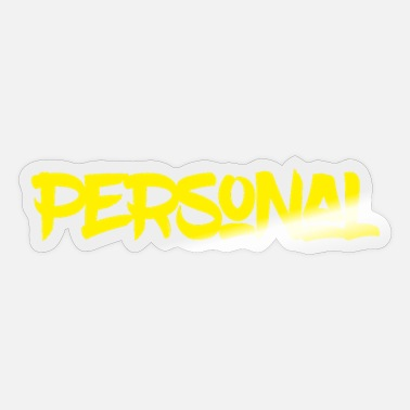 Personalized Personal - Sticker