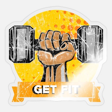 Sport Sports Gym Fitness Gift Idea - Sticker