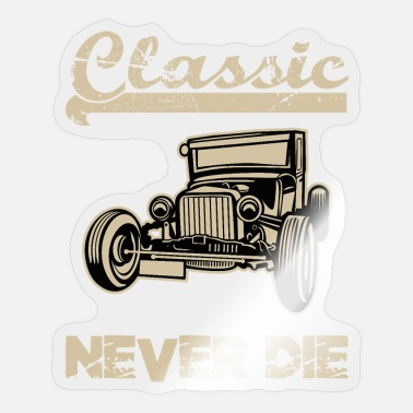 Tool And Die Classic Never Die Burn Rubber Giftidea - Sticker