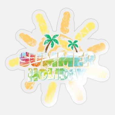 Holidays Holiday - Sticker