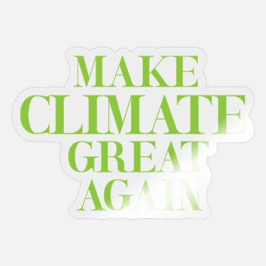 Climate Climate Change Climate - Sticker
