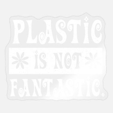 Enviromental Bag Anti Plastic Vegan Enviromental - Sticker