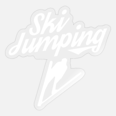 Ski Jumpers Ski Jumper - Sticker