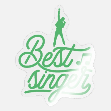 Chant Choir Singing Chant Chanting Singer - Sticker
