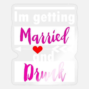 Getting Married getting married - Sticker