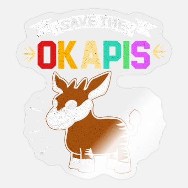 Okapi Okapi - Sticker