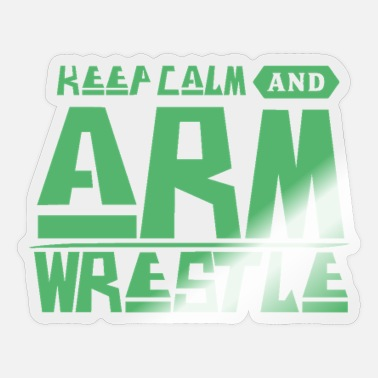 Arm Arm Wrestle Arm Wrestle Arm Wrestle Arm Wrestle - Sticker