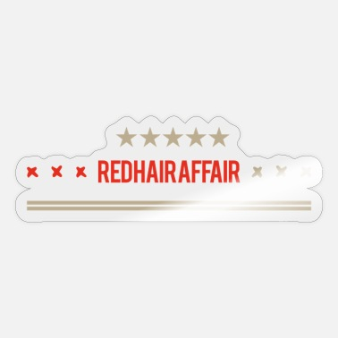 Affair red hair affair - Sticker
